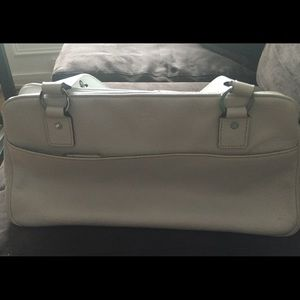 Vintage Kate Spade white leather purse!